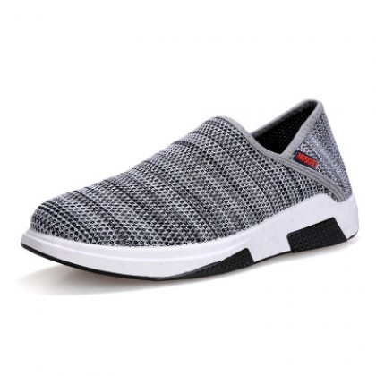 Men Korean Fashion Youth Trend Mesh Breathable Sports Shoes