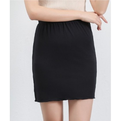 Women Fashion A Style Casual Anti Reflection Skirt