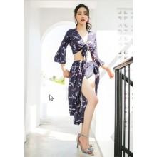 Women Korean Fashion White 3 Piece Sexy Slimming Beach Swimwear