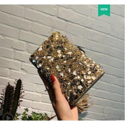 Women Fashion Shiny Rhinestone Small Messenger box Handbag