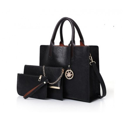 Women Fashion Retro Three Piece Messenger Shoulder Bag