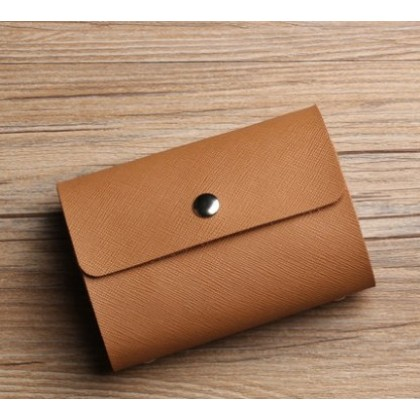 Men Korean Fashion Simple Small Business Card Holder
