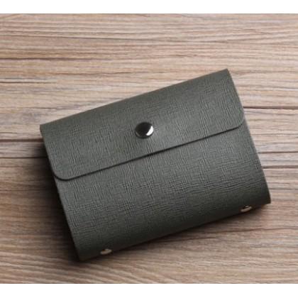 Men Korean Fashion Simple Small Business Card Holder
