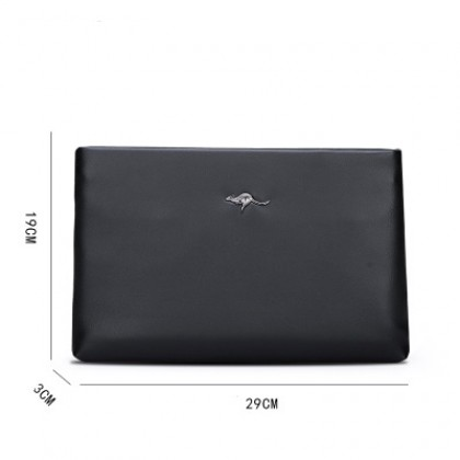 Men Fashion Business Envelope Clutch Handbag