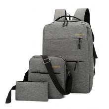 Men Korean Trend Casual Travel Waterproof Back Pack