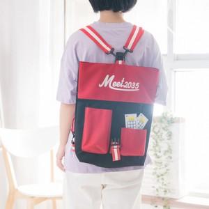 Women Harajuku Style Multi Purpose Canvas Sling bag and Backpack