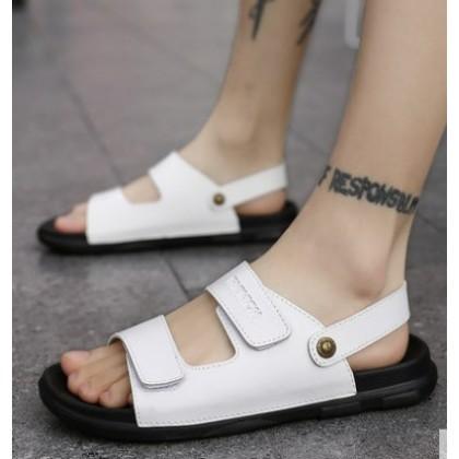 Men Korean Fashion Wild Style Breathable Casual Beach Sandals