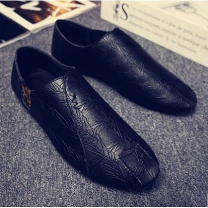 Men Korean Fashion Wild Style  Casual and Breathable Peas Shoes
