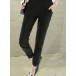 Women Korean Fashion Harlan Loose Thin Casual Trouser