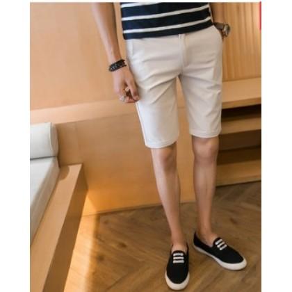 Men Korean Fashion Wild Style Casual Slim Fit Summer Shorts