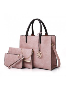 Women Korean Version Retro 3 Pieces Diagonal Shoulder Bag