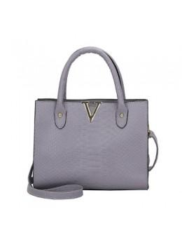 Women Korean Fashion Crocodile Pattern Wild Messenger Shoulder Bag