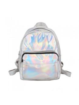 Women Korean Fashion Mini Youth trend Laser Backpack