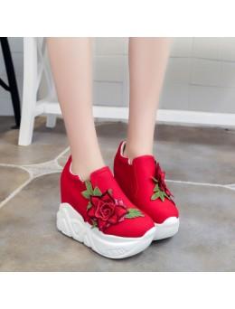 Women Korean Fashion Super High Thick Bottom Sporty Pedal Shoes