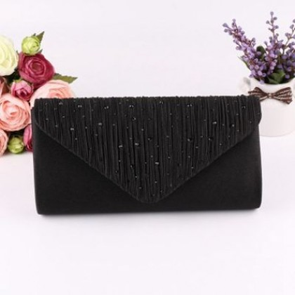 Women Korean Fashion Super Shiny Diamond Evening Bag
