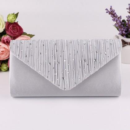 Women Korean Fashion Super Shiny Diamond Evening Bag
