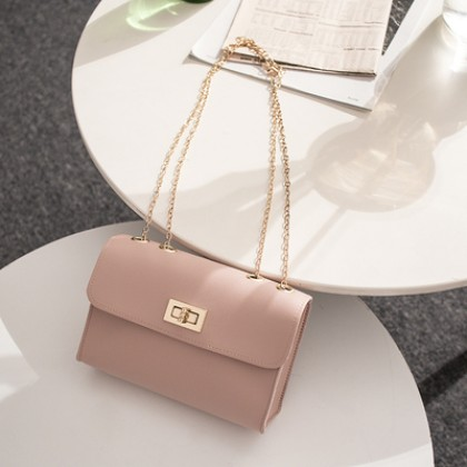 Women Korean Fashion Summer Wave Cute Small Square Messenger Bag