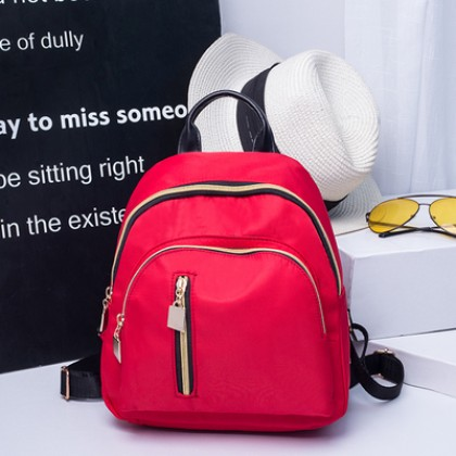 Women Korean Fashion Oxford Cloth Canvas Mini Backpack