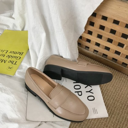 Women Korean Fashion Wild Style Flat Ladies British School Shoes