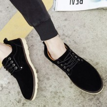 [READY STOCK] Plus Size Men England Casual Leather Shoes