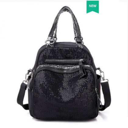 Women Korean Fashion  3 Way Multi function Casual Small Backpack
