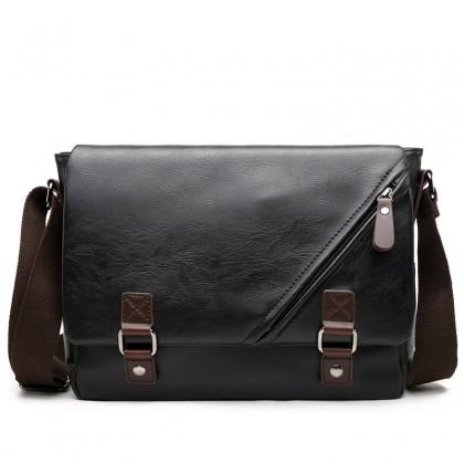 Men Korean Fashion Business Casual Wild Envelope Shoulder Bag