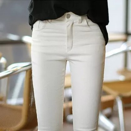 Women Slim Fashion Long Leggings  Tight Fitting Pencil Pants