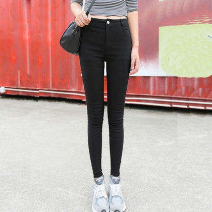 Women Slim Fashion Long Leggings  Tight Fitting Pencil Pants