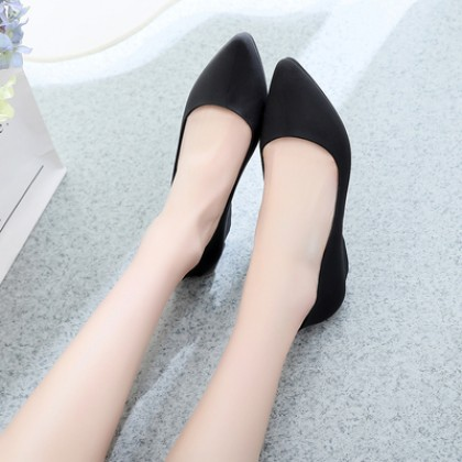 Women Fashion Pointed Soft Bottom Casual Flat Shoes