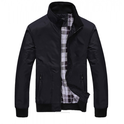 Men Fashion Trendy Looses Casual Baseball Jacket