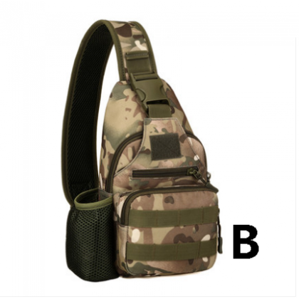 Men Fashion Tactical Chest Outdoor Camouflage Multi Function Bag
