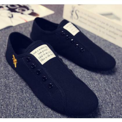 Men Korean Fashion  Wild Style Casual Loafers