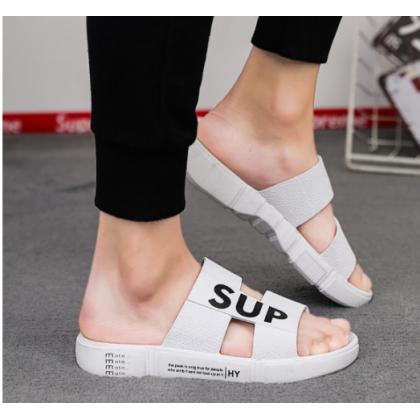 Men Korean Fashion Summer Outdoor Trend Flip Flops