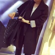[READY STOCK] England Style Women Blazer Long Jacket