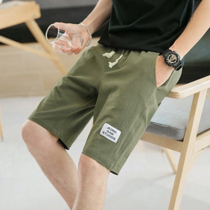 Men Cotton Comfort Style Street Fashion Plus Size Shorts