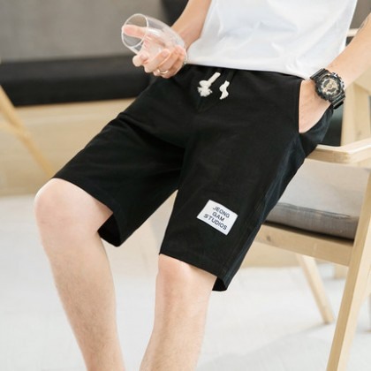 Men Cotton Comfort Style Street Fashion Plus Size Shorts