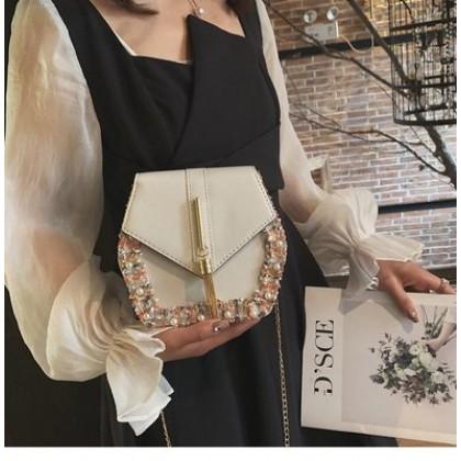 Women Stylish Rounded Square Fancy Messenger Sling Bag
