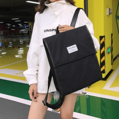 Women Strong Nylon College Bag Campus Trend Backpack