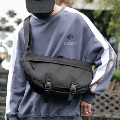 Men Big Messenger Crossbody Street Fashion Unisex Sling Bag