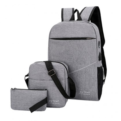 Men Travel Fashion Casual Student Big Laptop Unisex Backpack