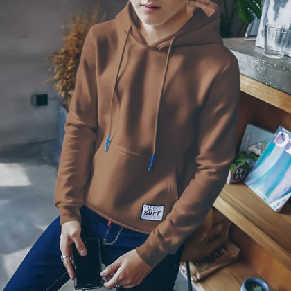 [READY STOCK / PRE-ORDER] Korean Men's Hooded Thick Sweater Jacket