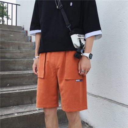Men Everyday Casual Fashion Loose Shorts