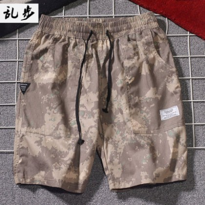 Men Casual Summer Sports Fashion Loose Camouflage Shorts