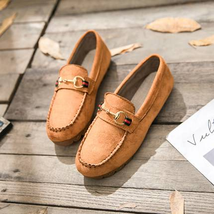 womens suede flat shoes