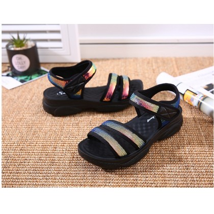 Women's Shoes Summer Sandals For Ladies Soft Comfortable Bottom Thick Flat