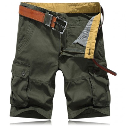 Men's Clothing Summer Sports Short Cropped Pants Loose Quick-Drying Pants