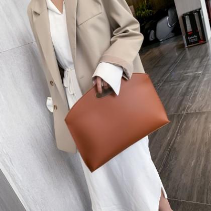 Women Bag Simple Clutch Document Bag Briefcase