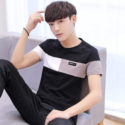 Men Casual Everyday Look Short-sleeved T-shirt
