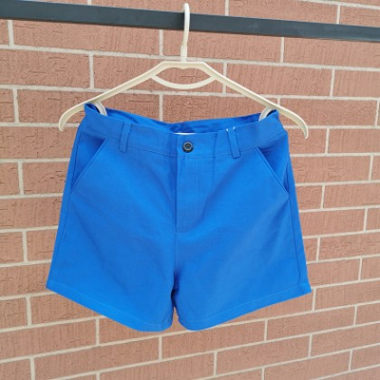 Men Casual Solid Color Three-point Shorts