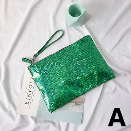 Women Sparkling Simple Dinner Clutch Bag